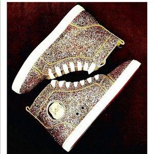 Christian Louboutin ' Glitter high tops